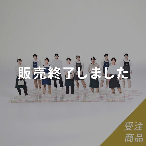 【受注販売】Buffaloesオリメンアクリルスタンド(8月上旬お届け予定)
